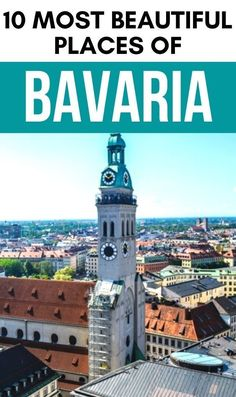 Explore the 10 most beautiful places in Bavaria Germany with this ultimate Bavaria travel guide. Get inspired to visit these beautiful destinations in Bavaria on your next trip to Europe. #Bavaria #Germany Travel Through Europe, Europe Travel Guide, Asia Travel, Travel Destinations, Best Places In Europe, Best Places To Travel, Cool Places To Visit, Visit Germany, Germany Travel