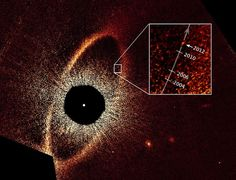 """Astronomers have confirmed Fomalhaut b actually exists and have calculated its potential orbit. The results are stranger than scientists could have imagined, dubbing it a """"rogue planet circling the Eye of Sauron""""."""