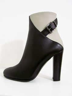 Intramontabile Ankle Boots KNOX Schwarz Weiß | Schuhe Herbst 2015