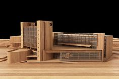 wood architectural model by Ricardo Canton | Architecture | 3D | CGSociety