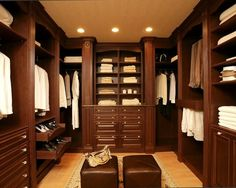 Gentlemen's Closet. This is the closet i'll be putting on my house on the next remodel.