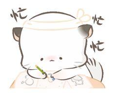 My Little Pony Stickers, Cute Stickers, Cute Love Gif, Cute Couple Art, Little Panda, Dibujos Cute, Kawaii Wallpaper, Cute Memes, Cute Panda