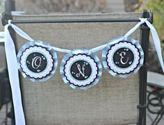 Girl New Years Birthday Party High Chair Banner.  ONE.  Pink, Silver Glitter, black.  1st Year.  1st Birthday. by CharmingTouchParties on Etsy