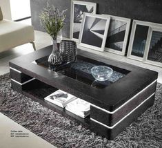 42 The Best Modern Coffee Table Design To Get A Luxurious Accent - Home Design Decorating Coffee Tables, Coffee Table Design, Living Room Sofa Design, Living Room Designs, Centre Table Design, Farmhouse Style Coffee Table, Center Table Living Room, Esstisch Design, Muebles Living