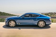 2018 Bentley Continental GT New Sports Cars, Exotic Sports Cars, Exotic Cars, Sport Cars, Bentley Continental Gt, Audi Rs, New Bentley, Jaguar Xk, Mini Cooper