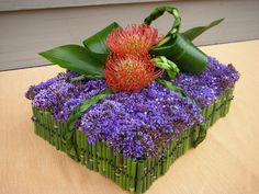 Modern Square Centerpiece - Aspen Branch Original - www.aspenbranch.com
