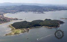 Isla de Cortegada. Ría de Arousa - Pontevedra