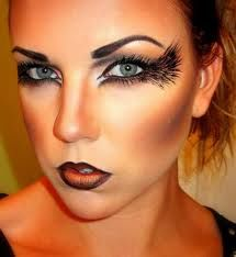fallen angel halloween makeup - Google Search