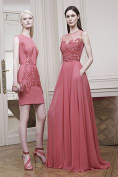 (Left) One of my favorite looks Elie Saab Resort 2015 Collection
