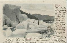 Nordland fylke Svartisen brukt 1903 Utg Mittet