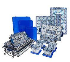Qvc Temptations 16 Piece Oven To Table Set