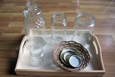 Jars & lids activity; Jj