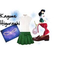 Kagome Higurashi Casual Cosplay