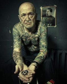 "Or you'll tire of them. | 24 Tattooed Seniors Answer The Question: ""What Will It Look Like In 40 Years?"""