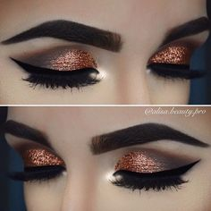 When you makeup eyes don't forget your eyebrows. Frame them with the appropriate colors of shadow or eyebrow pencil. Eyebrows are equally important for an effective view.
