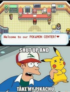 What It's Like Walking into a Pokemon Center