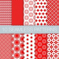 seamless patterns set