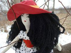 Tilda handmade doll - Duża szmaciana lalka Jagoda