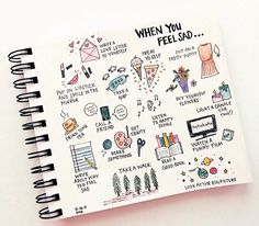 Really cute planner doodles - I'll be adding some of these to my journal! Planner Bullet Journal, My Journal, Bullet Journal Inspiration, Journal Pages, Bullet Journals, Journal Ideas Tumblr, Art Journals, Tumblr Ideas, Journal Ideas For Teens