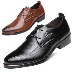 6a2c0d3d2586 New Men s England Leather Shoes Dress Formal Business Pointed Casual Lace  Shoes