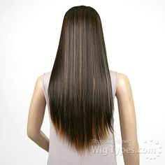 Freetress Equal Synthetic Hair Lace Deep Invisible L Part Lace Front Wig - SIMPLY - WigTypes.com