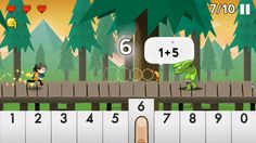 Number Run ($0.99) Number Run is great practice for boys & girls learning math and adults who just want to stay sharp. Finally, a FUN math game:    -Features 52 levels across addition, subtraction, multiplication, and division  -Aligned to Common Core state standards  -Test your skills in Endless Mode  -Unlock new outfits and show your style  -Developed by graduate students from Stanford and USC