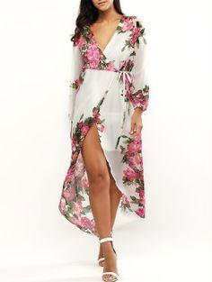 Floral Print Maxi Dress For Women Fashion Shop Trendy Style Online | ZAFUL