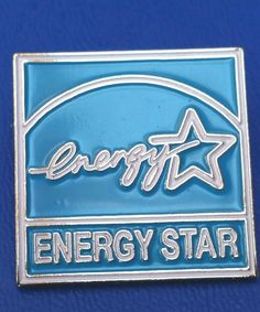 Energy Star Pin Lapel Hatpin Pinback Conservation  Power Appliances Advertising