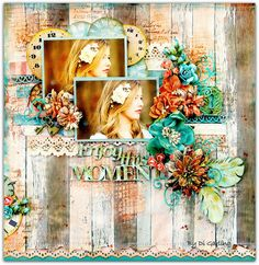 """""""Enjoy this moment"""" - Di's Scrapbook ShopJust-FabuliciouswithKirsty Kitchener : September / October Scrapbooking Class TimetableWith Di GarlingPLUSFridays are Now a """"YOUR CHOICE"""" Class"""