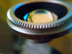 My Telephoto Lens for my phone's camera. :)