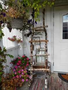 Hjertetunet: Interiør Ladder Decor, Home Decor, Decoration Home, Room Decor, Home Interior Design, Home Decoration, Interior Design