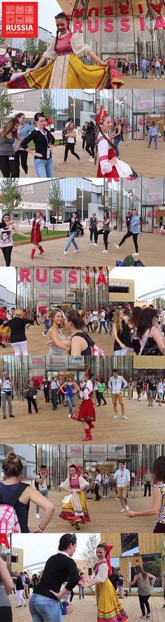 Expo 2015 Milano Blog: Traditional Russian dances Master Classes