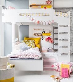 how to use space under f bunk bed from rafakids