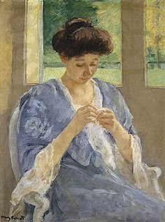 Lady At The Tea Table Mary Cassatt | Mary Stevenson Cassatt Painting Reproductions Gallery
