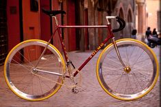 Olmo Fixed Gear Conversion (by Cicli Dossi)