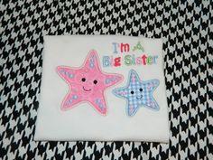 I'm a big sister shirt  Star big sister shirt #kidswear #bigsister