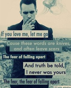 """panic at the disco - lyrics """"this is gospel"""" - one of their best songs I think. Panic! At The Disco, Panic At The Disco Lyrics, Band Quotes, Lyric Quotes, Emo Bands, Music Bands, Music Is Life, My Music, Music Lyrics"""