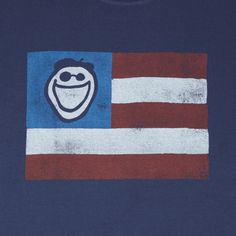 Men's Jake Flag Crusher Tee