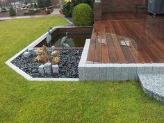 Elegant Holzterrassen mit Granit