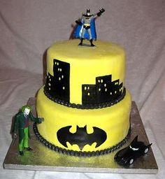 I See A Batman Birthday Party In My Near Future Food And Drink - Dark knight birthday cake