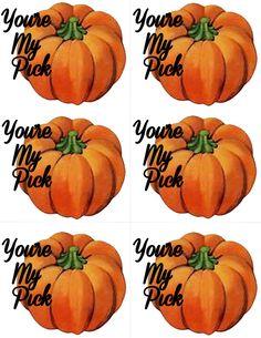 Five Free Fun Printable Fall/Halloween Gift Tags