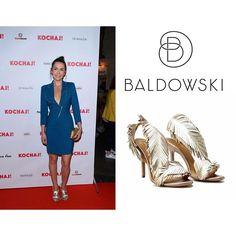 @olgaboladz in @baldowskiwb ❤️ #fashion #baldowski #baldowskiwb #olgaboladz #photooftheday #instagood #goldsandals #kochaj #moviepremiere #party