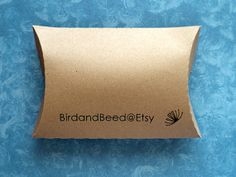 50 Custom Printed Pillow Boxes, Gift Boxes, Jewelry Boxes, Retail Packaging, Favors