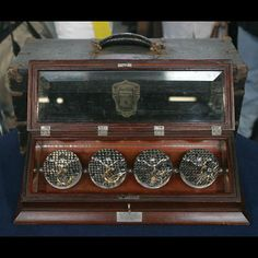 1905 Escapement Salesman Samples in Display Case —   Appraised Value:  $4,000 - $6,000