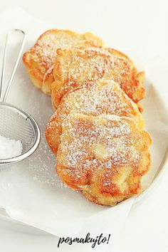 Polish Desserts, Polish Recipes, Cookie Recipes, Dessert Recipes, Pavlova, Food For Thought, Easy Dinner Recipes, Food To Make, Food Photography