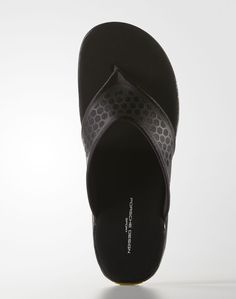 "buy popular 09700 f3115 Porsche Design Sport by adidas Summer Slides ""Core Black Supper Yellowâ"