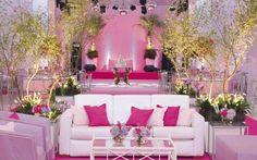 Resultado de imagem para 15 anos com flores rosa