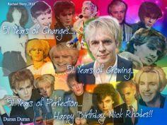 Nick Rhodes Nick Rhodes, Band, Happy, Movies, Movie Posters, Sash, Films, Film Poster, Ser Feliz