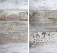 Mangrove becoming Oceania 2010; Pigment, beeswax, resin on solid cedar; 138x148cm (each panel 27.5x74cm; total10 panels)