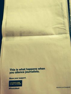 Powerful message in @nytimes on a big day for @PeterGreste & #AJ colleagues via @abbyhiggins #auspol